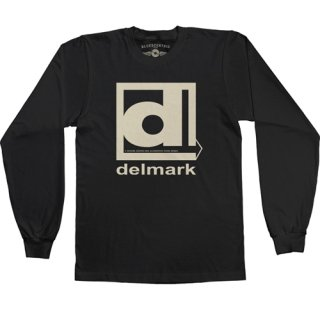 Delmark Records Long Sleeve T-Shirt / Classic Heavy Cotton