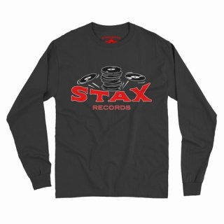 Stax Records Stax of Wax Long Sleeve T-Shirt / Classic Heavy Cotton<img class='new_mark_img2' src='https://img.shop-pro.jp/img/new/icons15.gif' style='border:none;display:inline;margin:0px;padding:0px;width:auto;' />