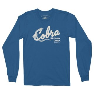 Cobra Records Long Sleeve T-Shirt / Classic Heavy Cotton<img class='new_mark_img2' src='https://img.shop-pro.jp/img/new/icons15.gif' style='border:none;display:inline;margin:0px;padding:0px;width:auto;' />