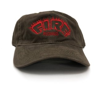 Fire Records Hat - Brown Unstructured  (Brown) <img class='new_mark_img2' src='https://img.shop-pro.jp/img/new/icons5.gif' style='border:none;display:inline;margin:0px;padding:0px;width:auto;' />
