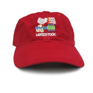 Woodstock Hat - Unstructured (Red)<img class='new_mark_img2' src='https://img.shop-pro.jp/img/new/icons5.gif' style='border:none;display:inline;margin:0px;padding:0px;width:auto;' />