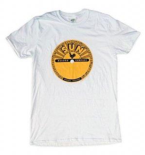 SUN Logo Tee - White / Classic Heavy Cotton
