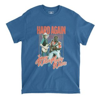Muddy Waters & Johnny Winter  'Hard Again'  T-Shirt / Classic Heavy Cotton