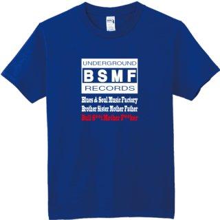 BSMF RECORDS Logo T Shirts / Royal