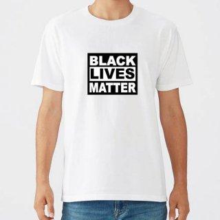 Black Lives Matter Logo T Shirts / White