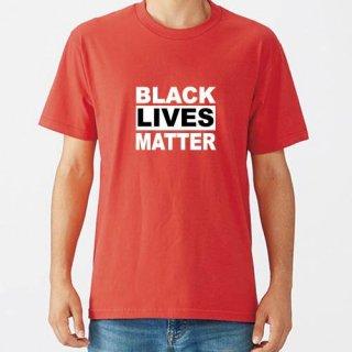 Black Lives Matter Logo T Shirts / Red