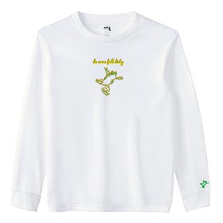 Frog Logo 'do ones full duty' Long T Shirts / White
