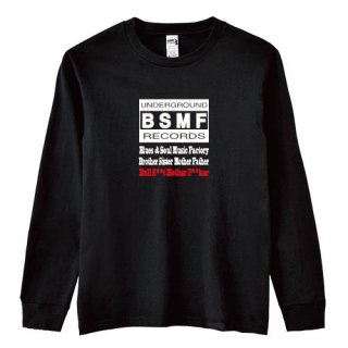 BSMF RECORDS Logo Long T Shirts