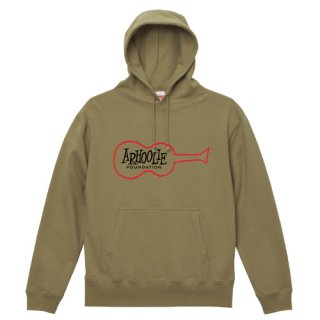 Arhoolie Records label logo Parka Pullover