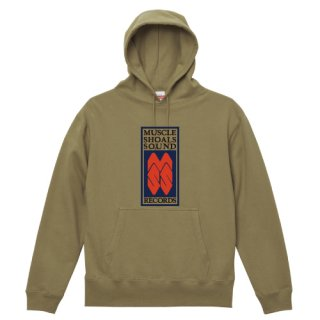 Muscle Shoals Sound Records label logo Parka Pullover
