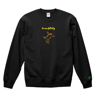Frog Logo 'do ones full duty' Sweat / Black