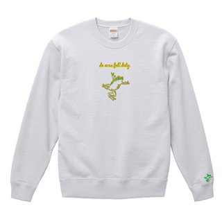 Frog Logo 'do ones full duty' Sweat / White