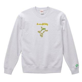Frog Logo 'do ones full duty' Sweat / White
