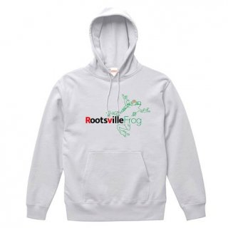 Rootsville Frog Logo Parka Pullover 12.7oz / White<img class='new_mark_img2' src='https://img.shop-pro.jp/img/new/icons1.gif' style='border:none;display:inline;margin:0px;padding:0px;width:auto;' />