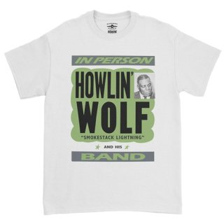 Howlin' Wolf In Person T-Shirt / Classic Heavy Cotton<img class='new_mark_img2' src='https://img.shop-pro.jp/img/new/icons8.gif' style='border:none;display:inline;margin:0px;padding:0px;width:auto;' />