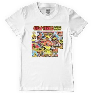 Big Brother and the Holding Company (Janis Joplin) Cheap Thrills T-Shirt / Classic Heavy Cotton