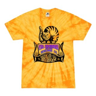 Small Batch Big Brother and the Holding Company (Janis Joplin)  Tie-Dye T-Shirt / Summertime Yellow