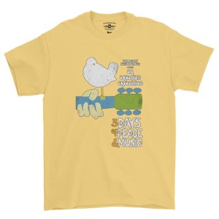 Woodstock Festival Poster T-Shirt / Classic Heavy Cotton