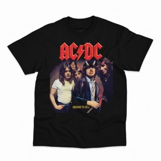 AC/DC Highway To Hell T-Shirt / Classic Heavy Cotton