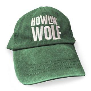 Howlin Wolf Hat - Green Unstructured