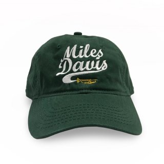 Miles Davis Trumpet Unstructured Hat - Green<img class='new_mark_img2' src='https://img.shop-pro.jp/img/new/icons8.gif' style='border:none;display:inline;margin:0px;padding:0px;width:auto;' />