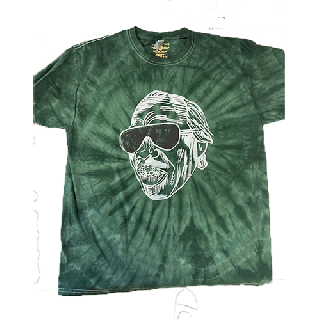 Professor Longhair Mardi Gras Tie-Dye T-Shirt / Faith Green<img class='new_mark_img2' src='https://img.shop-pro.jp/img/new/icons8.gif' style='border:none;display:inline;margin:0px;padding:0px;width:auto;' />