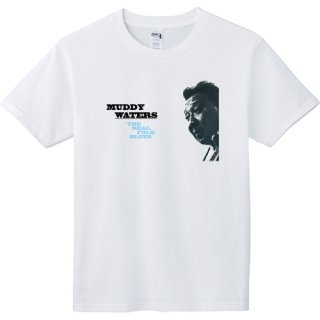 Muddy Waters 『The Real Folk Blues』 Jacket T Shirts<img class='new_mark_img2' src='https://img.shop-pro.jp/img/new/icons6.gif' style='border:none;display:inline;margin:0px;padding:0px;width:auto;' />