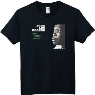 John Lee Hooker 『The Real Folk Blues』 Jacket T Shirts<img class='new_mark_img2' src='https://img.shop-pro.jp/img/new/icons6.gif' style='border:none;display:inline;margin:0px;padding:0px;width:auto;' />