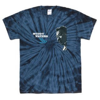 Muddy Waters 『The Real Folk Blues』 Jacket T Shirts - Tie-Dye Spider Navy<img class='new_mark_img2' src='https://img.shop-pro.jp/img/new/icons12.gif' style='border:none;display:inline;margin:0px;padding:0px;width:auto;' />