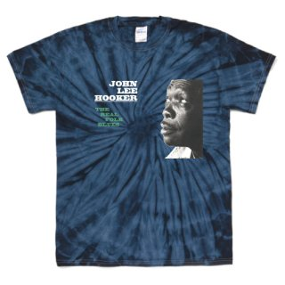 John Lee Hooker 『The Real Folk Blues』 Jacket T Shirts - Tie-Dye Spider Navy<img class='new_mark_img2' src='https://img.shop-pro.jp/img/new/icons6.gif' style='border:none;display:inline;margin:0px;padding:0px;width:auto;' />