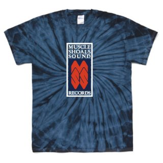 Muscle Shoals Sound Records label logo T Shirts - Tie-Dye Spider Navy<img class='new_mark_img2' src='https://img.shop-pro.jp/img/new/icons15.gif' style='border:none;display:inline;margin:0px;padding:0px;width:auto;' />