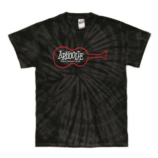 Arhoolie Records label logo T Shirts - Tie-Dye Spider Black<img class='new_mark_img2' src='https://img.shop-pro.jp/img/new/icons15.gif' style='border:none;display:inline;margin:0px;padding:0px;width:auto;' />