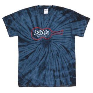 Arhoolie Records label logo T Shirts - Tie-Dye Spider Navy