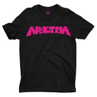 Aretha Franklin Pink T-Shirt / Lightweight Vintage Style