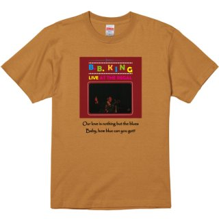 B.B. King 『Live At The Regal』 Jacket T Shirts<img class='new_mark_img2' src='https://img.shop-pro.jp/img/new/icons7.gif' style='border:none;display:inline;margin:0px;padding:0px;width:auto;' />