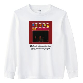 B.B. King 『Live At The Regal』  Jacket Long T Shirts (4 colors)<img class='new_mark_img2' src='https://img.shop-pro.jp/img/new/icons9.gif' style='border:none;display:inline;margin:0px;padding:0px;width:auto;' />