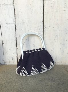 Vintage 1940's  Beaded Crochet Purse