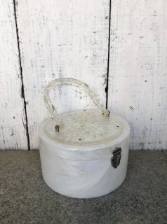 Vintage 1950's Lucite Top & Handle Purse