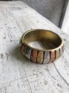 Vintage  Tri-Color Bangle