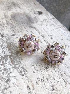 Vintage Glass Beaded Earring