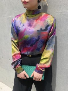<img class='new_mark_img1' src='https://img.shop-pro.jp/img/new/icons50.gif' style='border:none;display:inline;margin:0px;padding:0px;width:auto;' />Lady's Design Marble Blouse