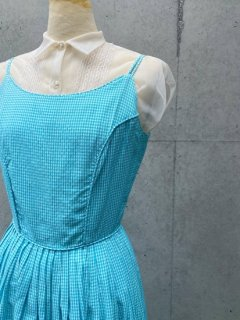 Vintage 50s Checkered Dress