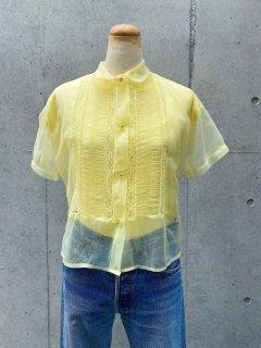Vintage 40~50s Nylon Blouse