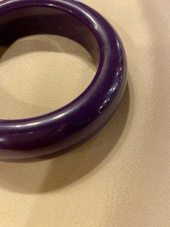 Vintage Purple Bangle