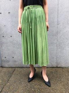 Vintage Green Indian Skirt