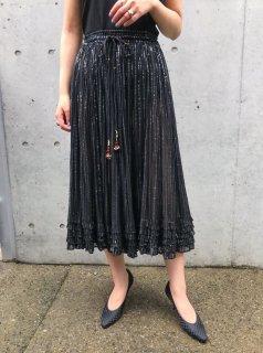Vintage Black Indian Skirt