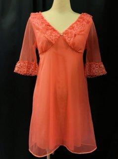 Vintage Pink Lingerie Dress
