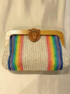 Vintage Rainbow Purse