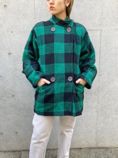 <img class='new_mark_img1' src='https://img.shop-pro.jp/img/new/icons24.gif' style='border:none;display:inline;margin:0px;padding:0px;width:auto;' />(30%off) Lady's Block Check Coat ¥13,800→¥9,660