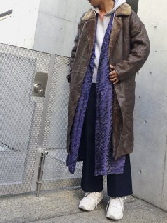 <img class='new_mark_img1' src='https://img.shop-pro.jp/img/new/icons50.gif' style='border:none;display:inline;margin:0px;padding:0px;width:auto;' />(30%off) Leather Boa Coat ¥24,800→17,360